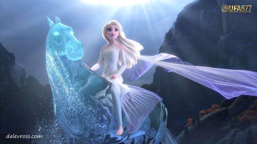 จิตวิญญาณธาตุ ลม และ น้ำ ในเรื่อง Frozen
