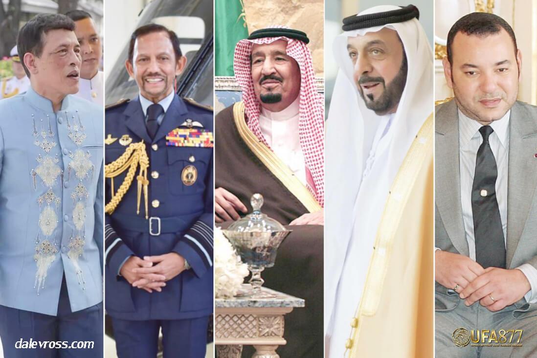 ราชวงศ์ไหนบ้างที่ร่ำรวยที่สุดในโลก